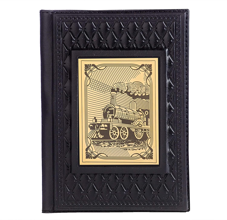 Passport Cover Handmade LeatherRailwayman 4