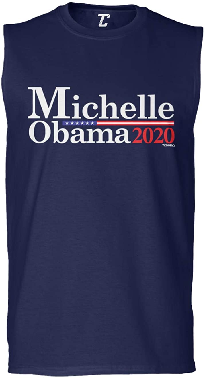 Tcombo Michelle Obama 2020 - Presidential Candidate Men's Sleeveless Shirt