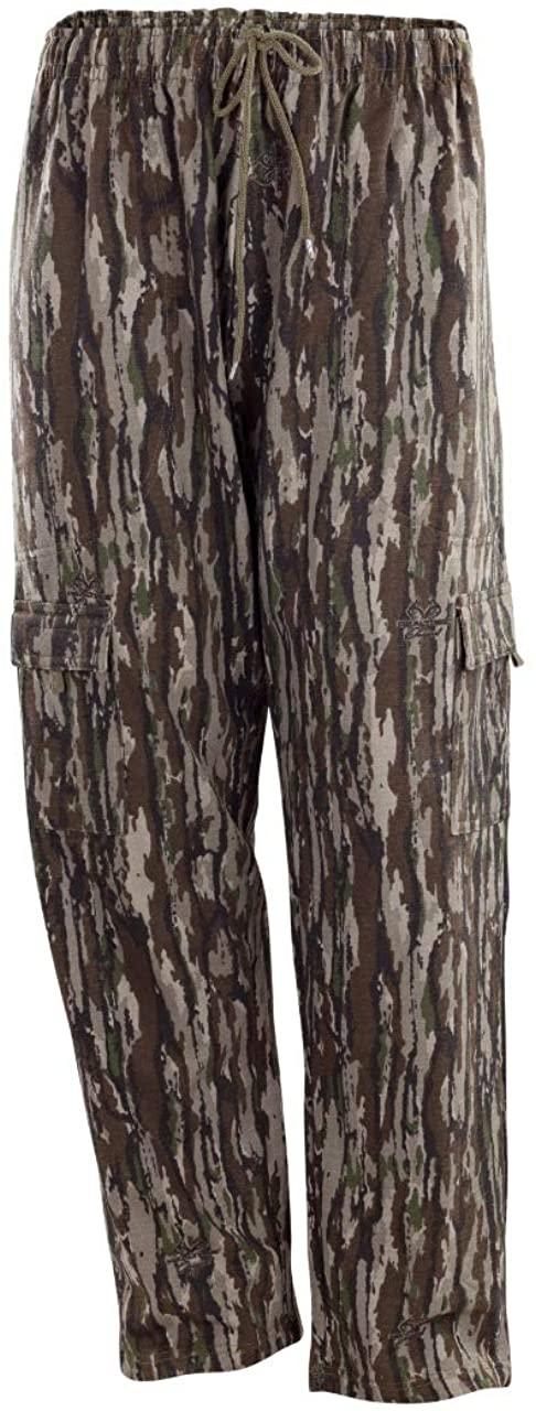 Men's Realtree camo Fleece Cargo Pant with Cellphone Pocket