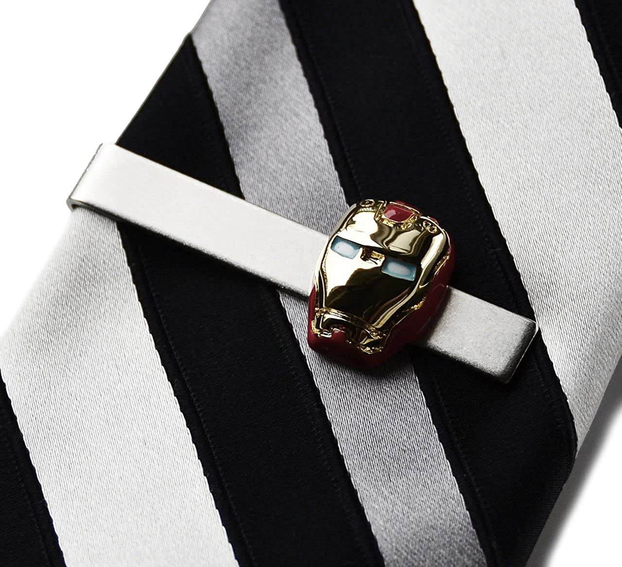 Quality Handcrafts Guaranteed Ironman Tie Clip