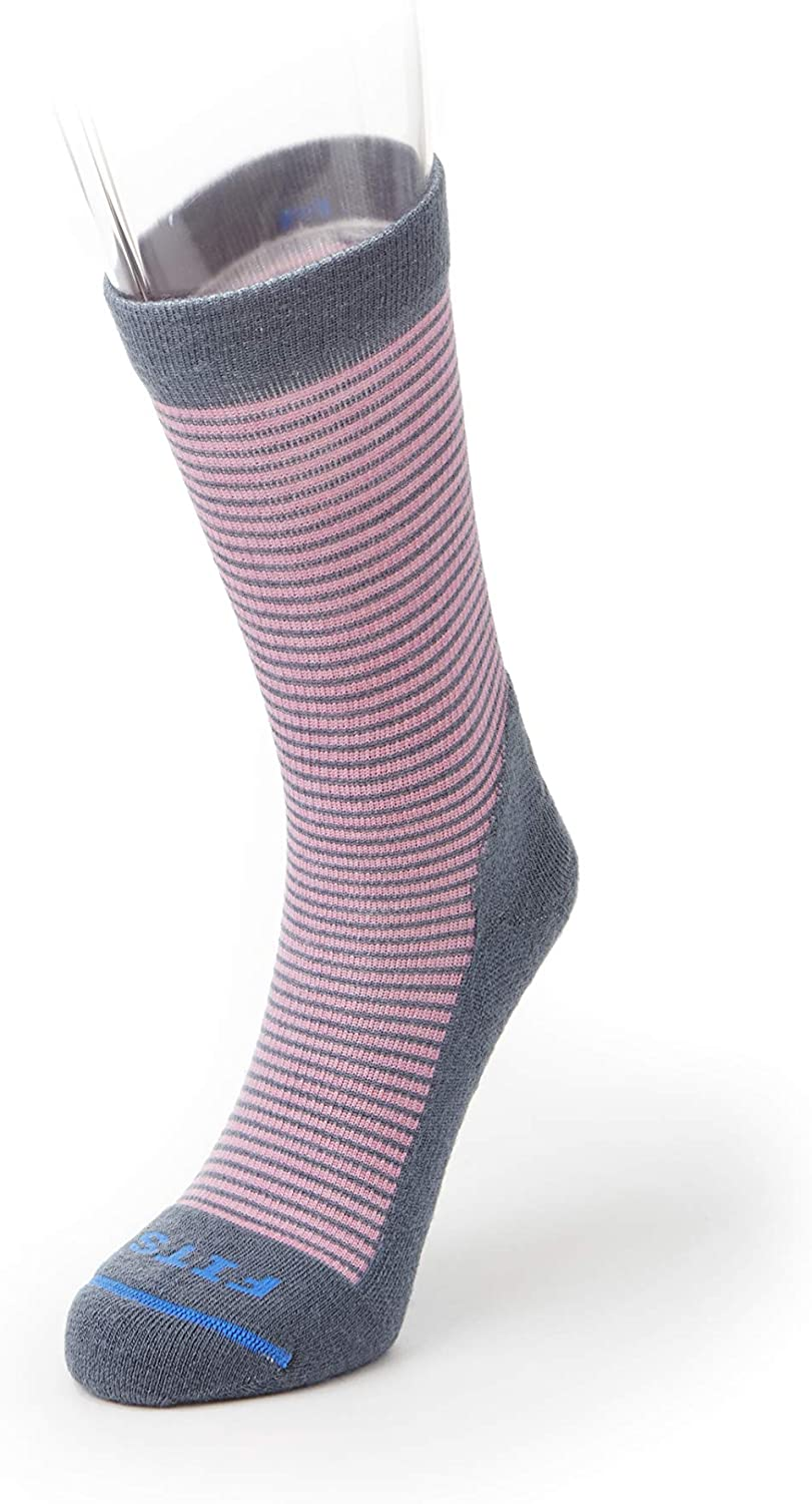 FITS Casual – Crew Socks, Stormy Weather/Cashmere Rose, S