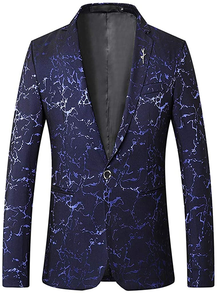 ♛TIANMI Men Stylish Solid Suit Blazer Business Wedding Party Outwear Jacket Tops Blouse