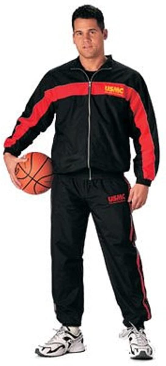 Black USMC Warm-Up Suit Jacket 60074 Size L