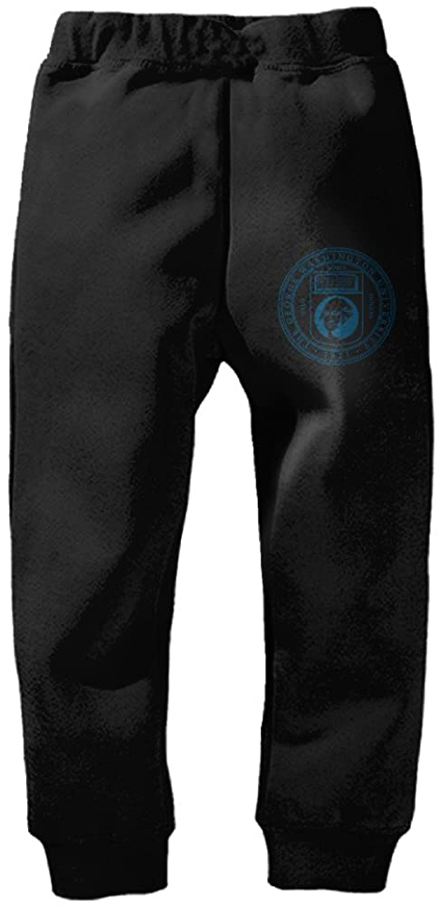 Fashionable George Washington University Mascot Logo Kid's Sweatpants Pants Drawstring