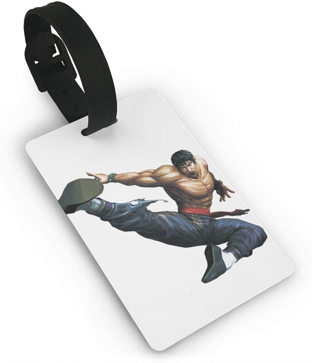 Street Fighter Luggage Tagr Bag Tag Travel Suitcases Id Identifier Baggage Label 1 Piece