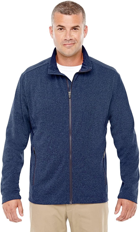 Devon & Jones Fairfield Herringbone Full-Zip Jacket (D885)