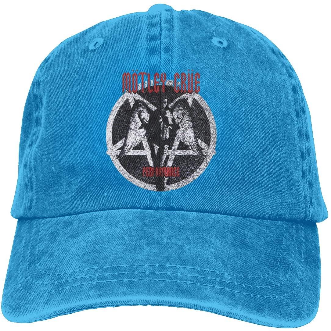 NOT Motley Crue Logo Adult Cowboy Hat
