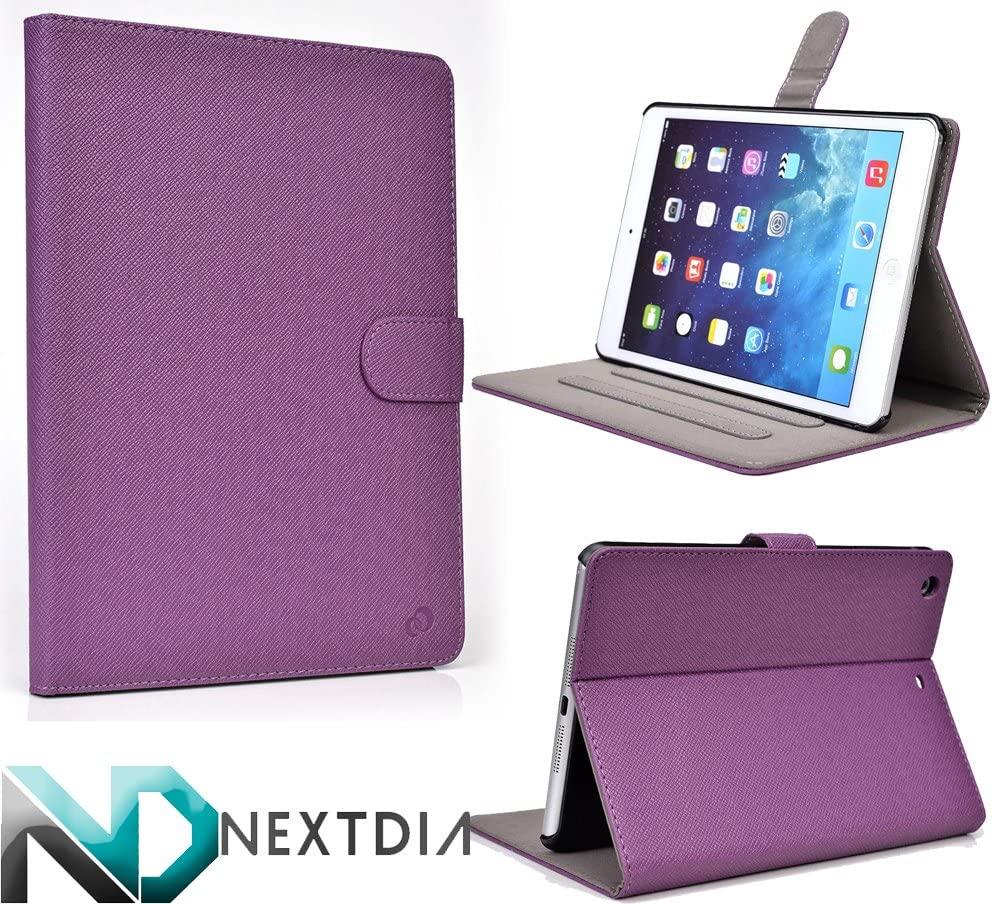Tablet Case and Stand fits Apple iPad Mini Retina Display |A1489| [16GB, 32GB, 64GB, 128GB] |Verizon| |AT&T| |T-Mobile| |Sprint|- [Purple]