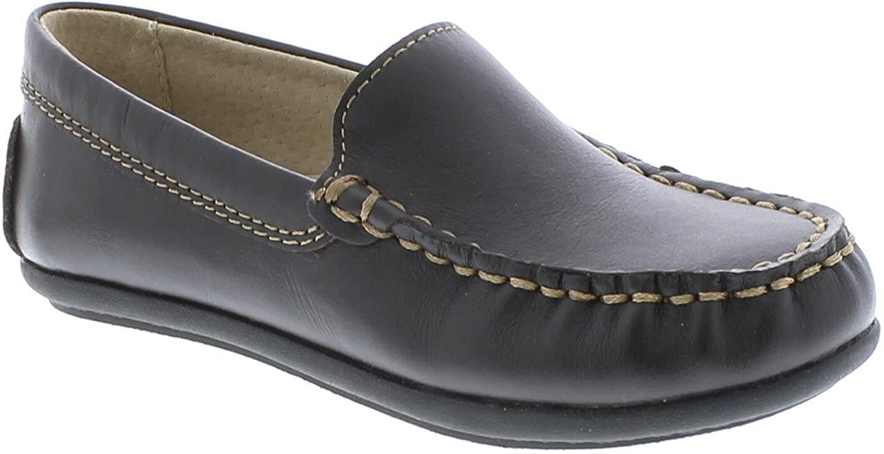 FootMates Brooklyn Slip-On Loafer Brown - 9204/10 Toddler M/W