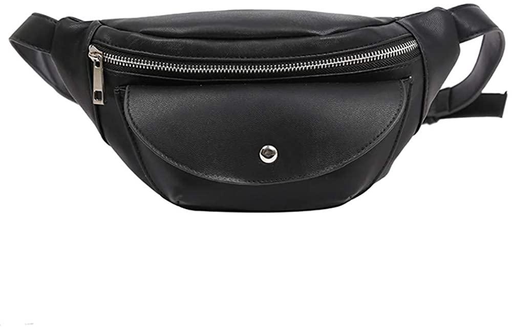 Goddessvan Waist Bag for Womens Fanny Packs Fashion Flap Crossbody Bags Quilted Belt Bag Ladies Waist Purse