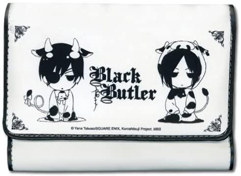 Great Eastern Entertainment Girls Black Butler - Ciel & Sebastian Cow SD Wallet