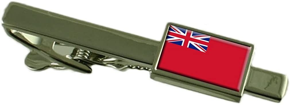 Select Gifts Red Ensign Militairy England Flag Tie Clip
