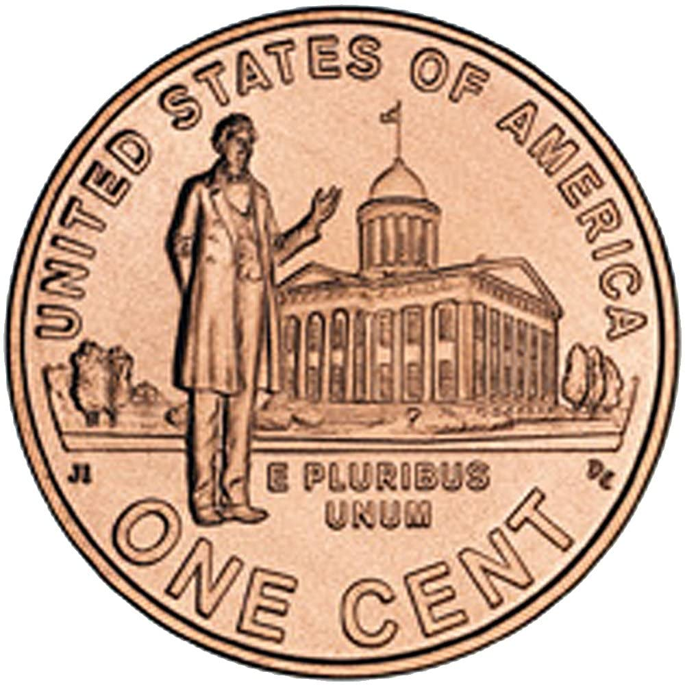 Jazzworks,LLC 2009 USA Coin Lincoln One Cent Professional Life Tie Pin Tack (129)