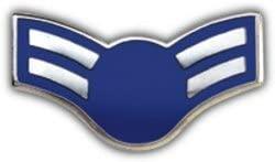 US Air Force E-3 1st Class Airman Lapel Pin