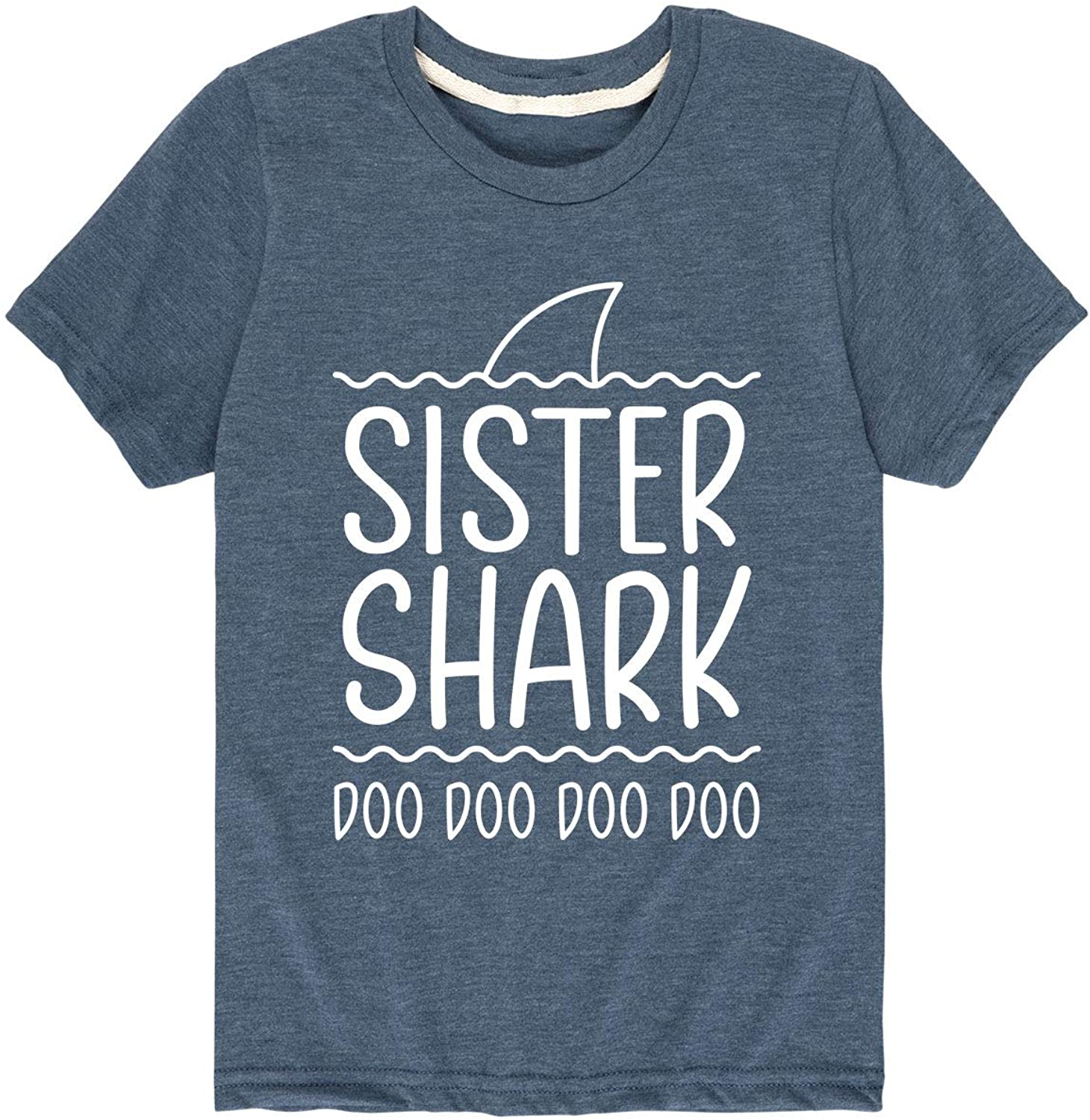 Sister Shark - Youth Short Sleeve Graphic T-Shirt