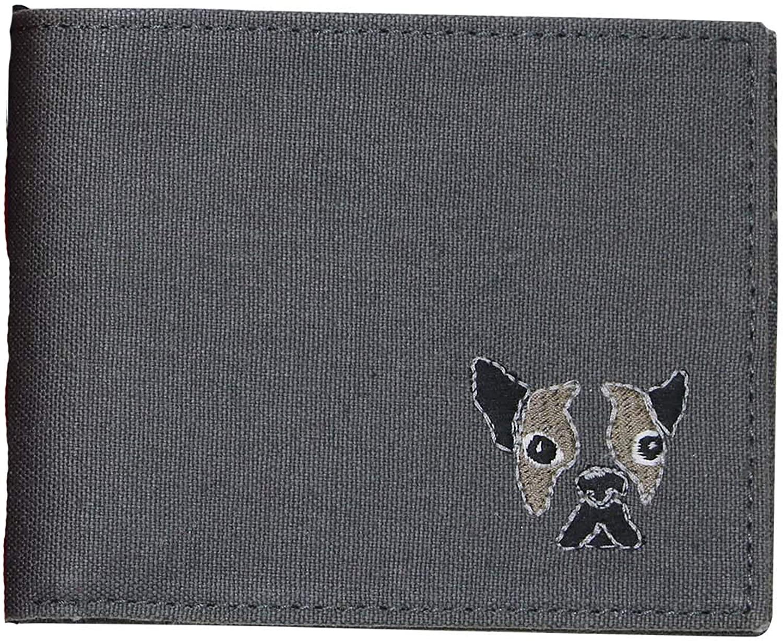Perry Ellis Mens Dog Bifold Wallet