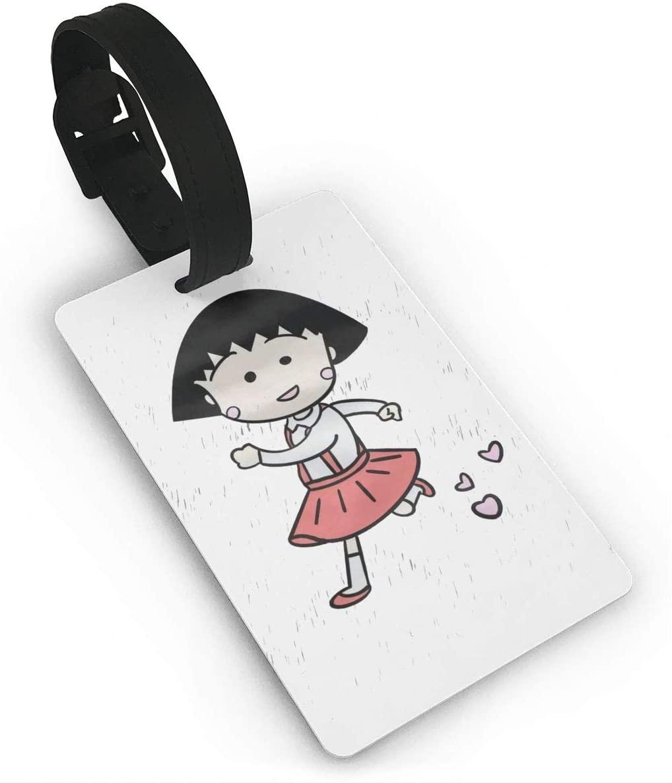 Sherrygeoffrey Chibi Maruko Luggage Tags Travel