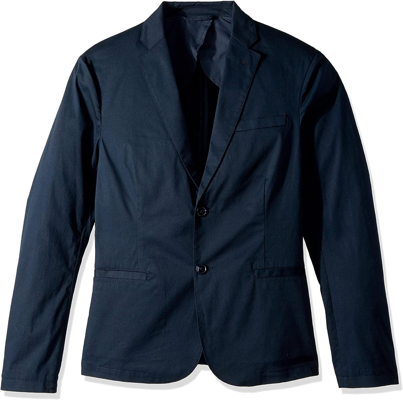 A|X Armani Exchange Men's Cavalry Twill Two Button Blazer