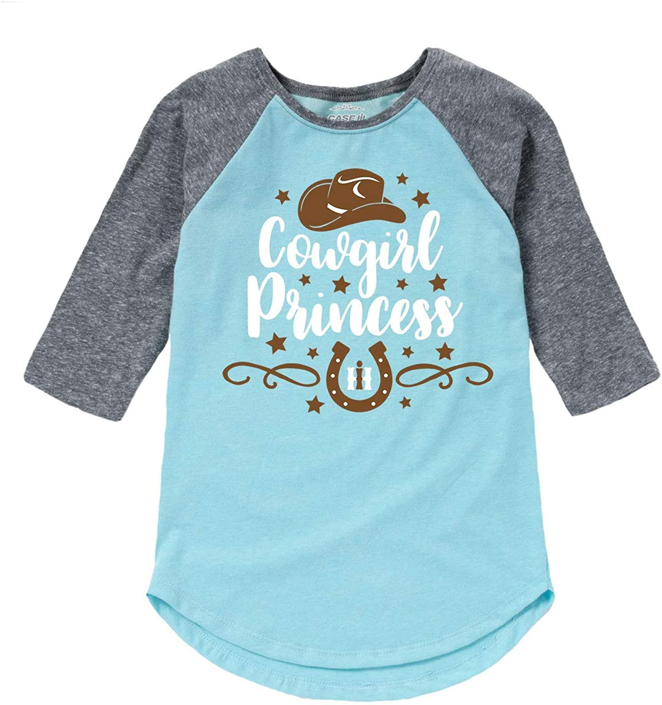 Country Casuals International Harvester Cowgirl Princess - Toddler Girl Raglan