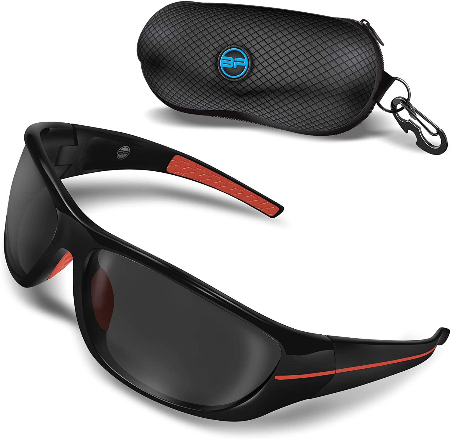 BLUPOND Polarized Driving Sunglasses for Men/Women - TAC HD Lens Clear Vision for Motorcycle Riding - CHOPPER