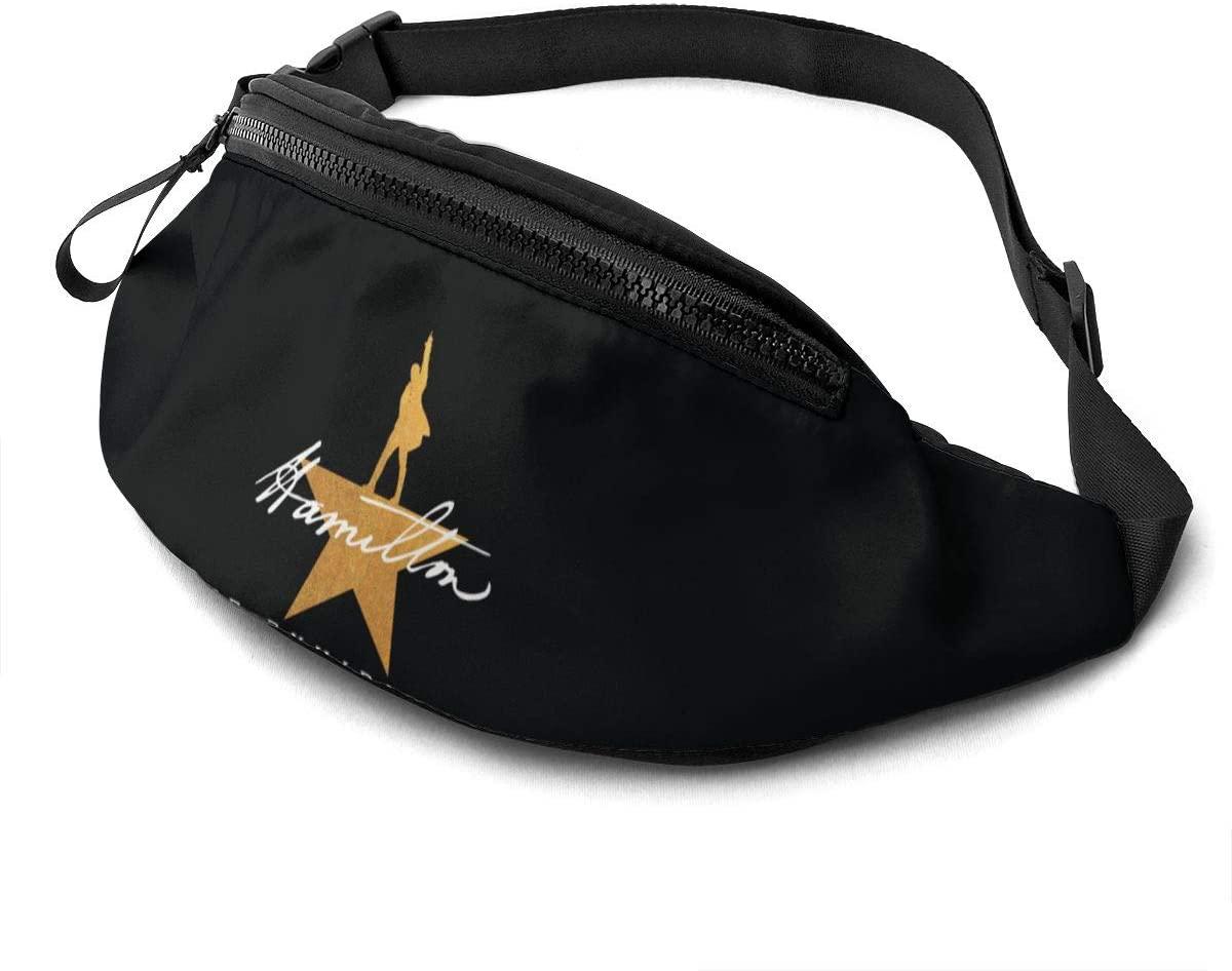 Mr.Wessly Hamilton Casual Waist Bag Fitness Belt Bag Men Women