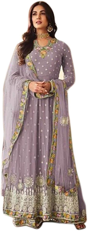 We Designer Indian/Pakistani Readymade Party Wear Anarkali for Womens Georgette Plaazo Salwar Kameez for Women Ready to wear