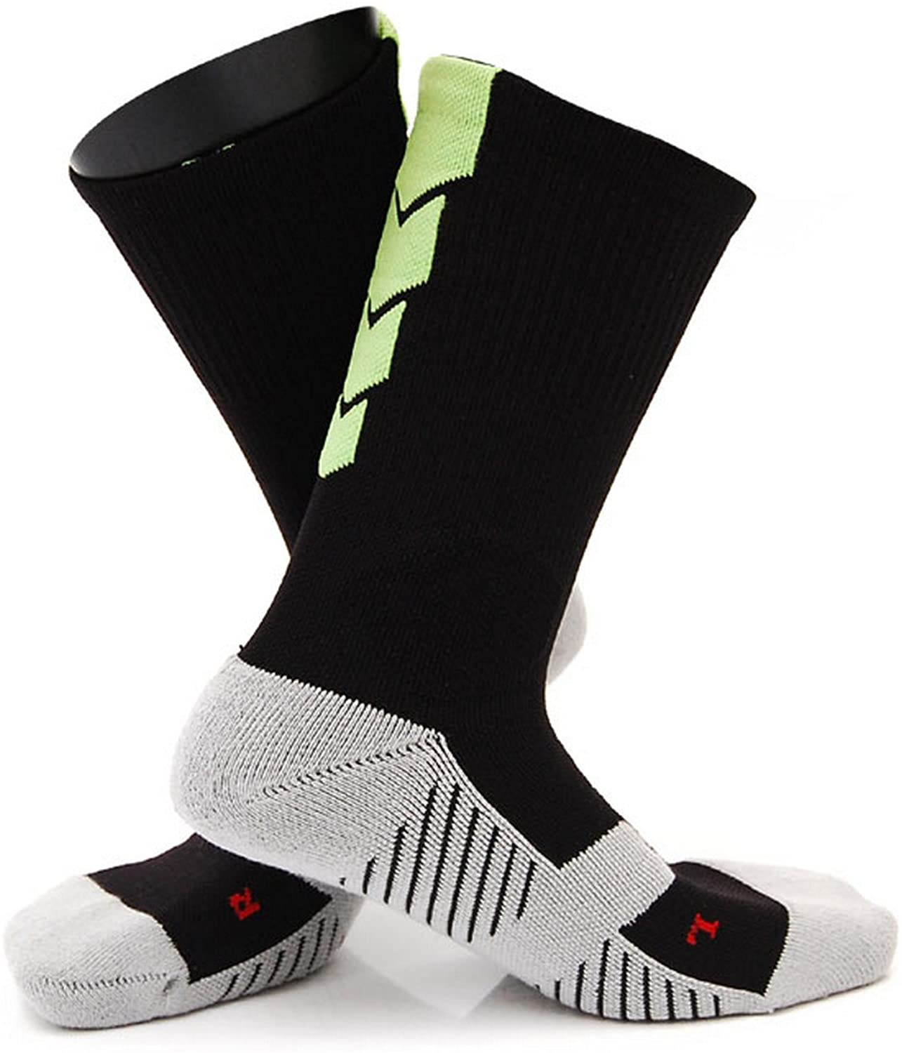 Lian LifeStyle Big Girl's 1 Pair All Sport Crew Socks 0027 Size M
