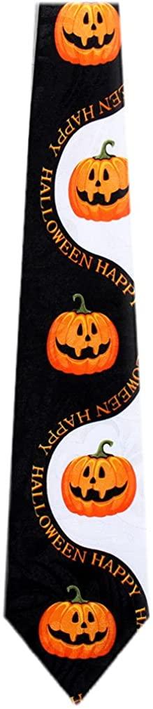 Mens Novelty Halloween Theme Necktie Ties