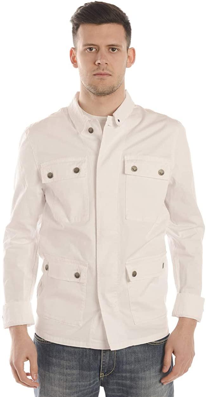 Daniele Alessandrini - Men'S Jacket GJ5556L1033800 GJ5556L1033800 White SAHARIAN