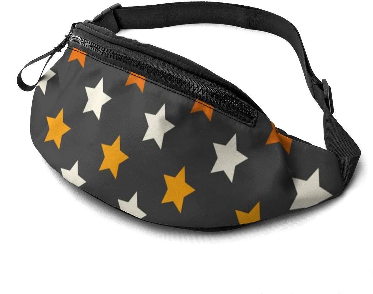 Halloween Stars Seamless Splicing Shades Fanny Pack Fashion Waist Bag