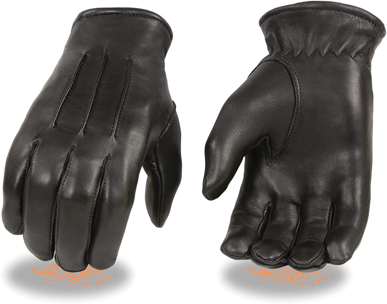 Milwaukee Leather Mens Deer Skin Thermal Lined Gloves (X-Large)