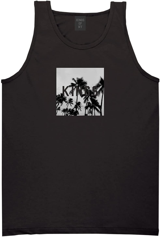 Kings Of NY Palm Tree Kings Box Logo Tank Top