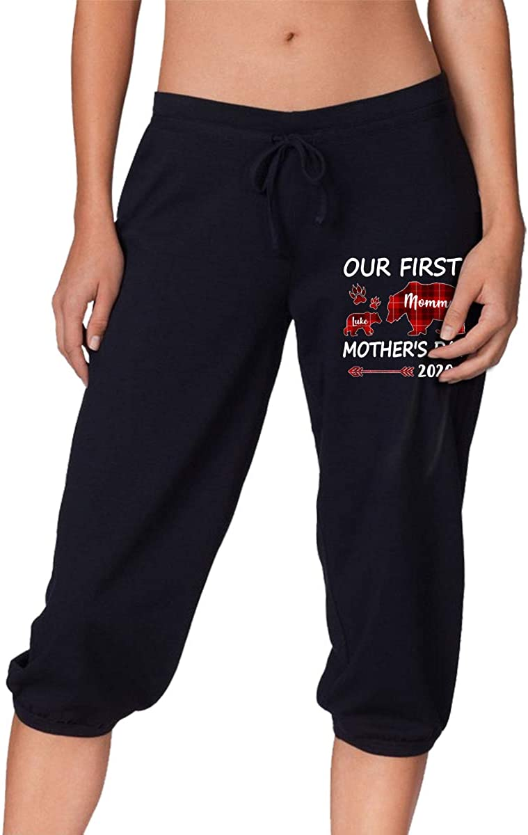 Mom Baby Our First Mothers Day Women's 7 Pants