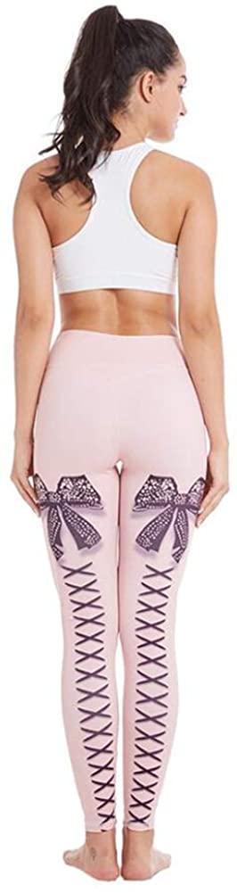 Lady Printing Yoga Pants Elastic Gaiter High Waist Hip Lift Leggings for Four Seasons are Appropriate