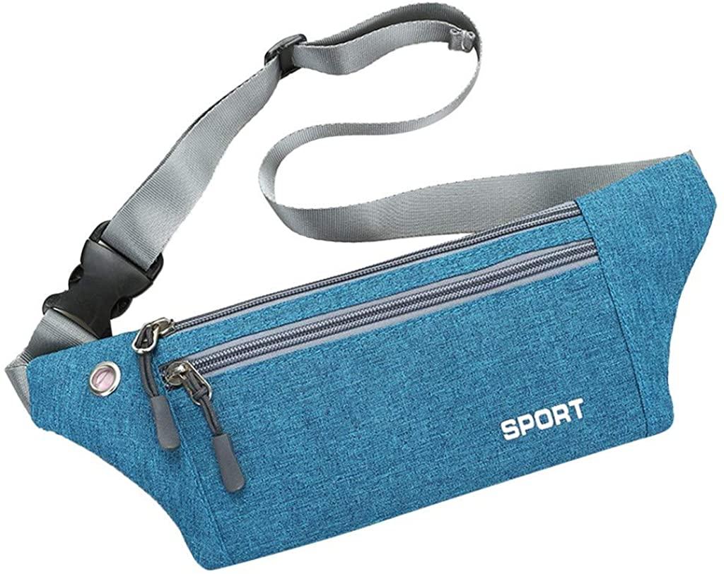 LEKODE Fashion Neutral Outdoor Sport Messenger Crossbody Waist Packs Bag