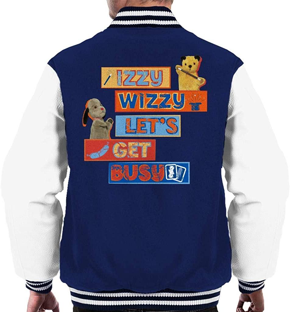 Sooty Izzy Wizzy Let's Get Busy Men's Varsity Jacket