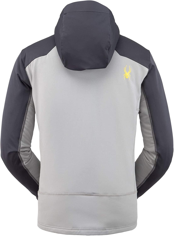 Spyder Men's Ascender GTX INFINIUM Hoodie Jacket Ebony L