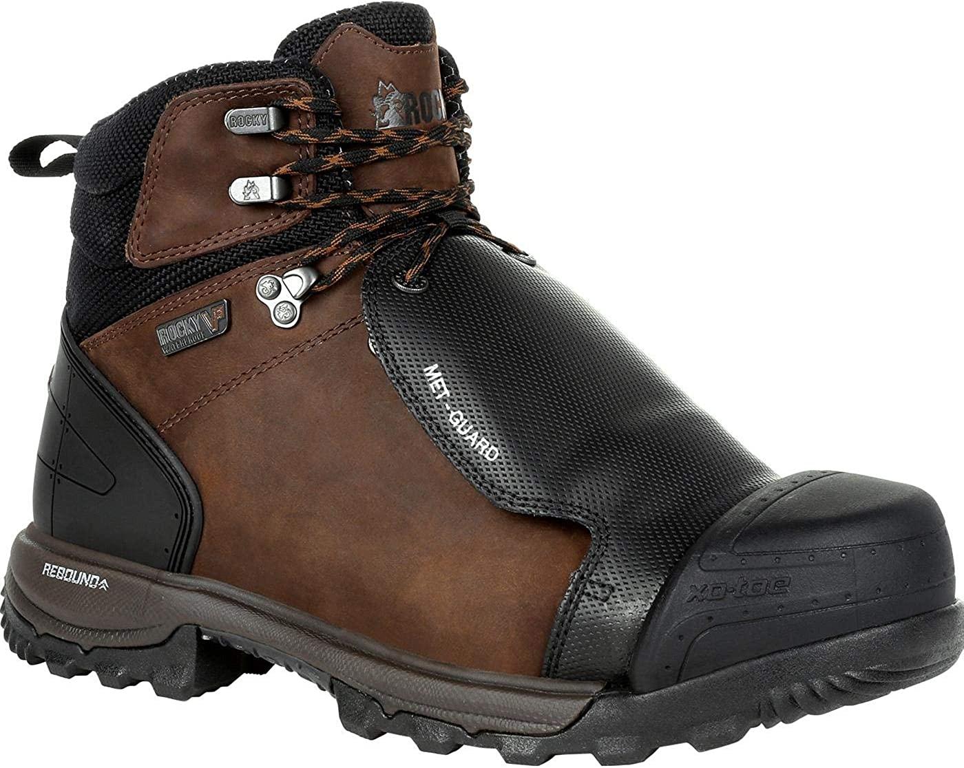 Rocky XO-Toe Composite Toe Met Guard Waterproof Work Boot