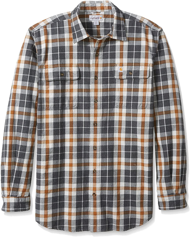 Carhartt Mens Big and Tall Big & Tall Hubbard Plaid Shirt