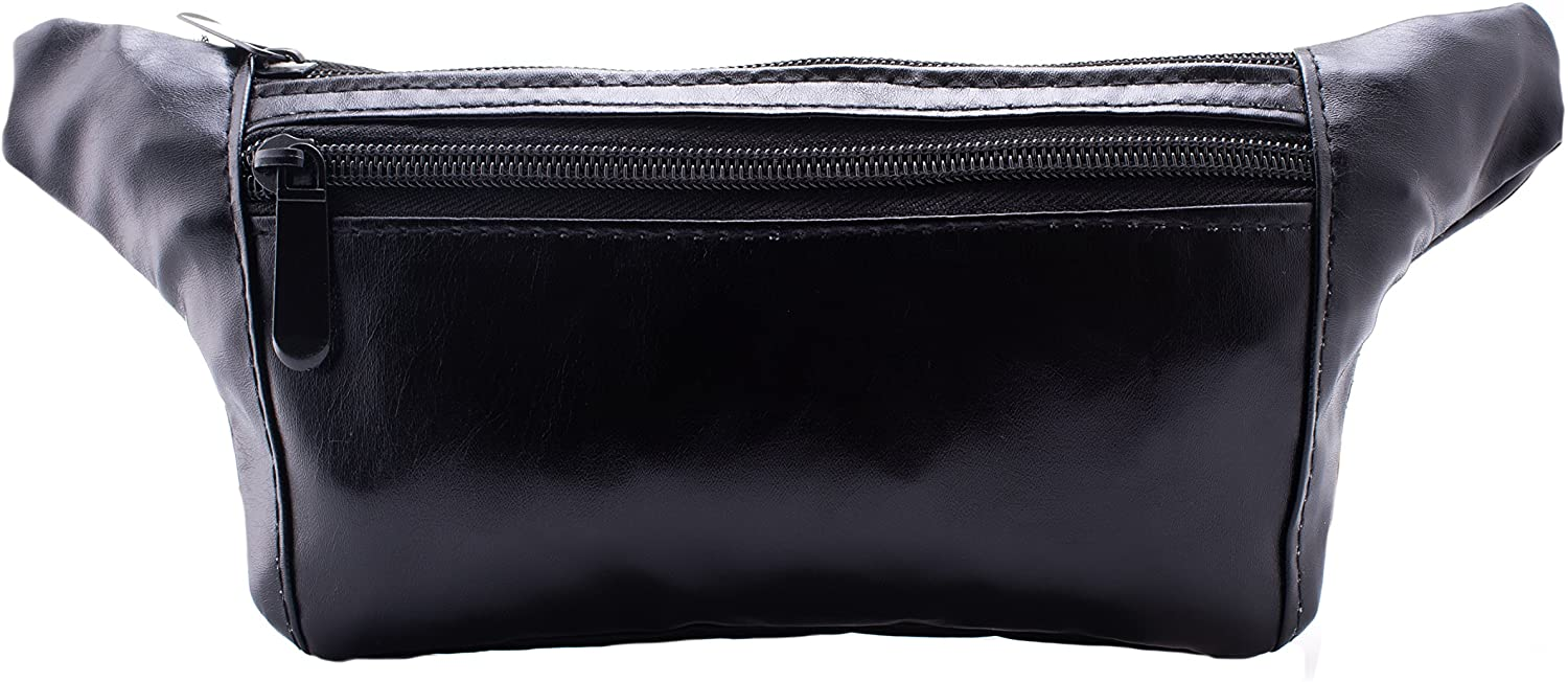 Fanny Waist Pack - Leather - Black