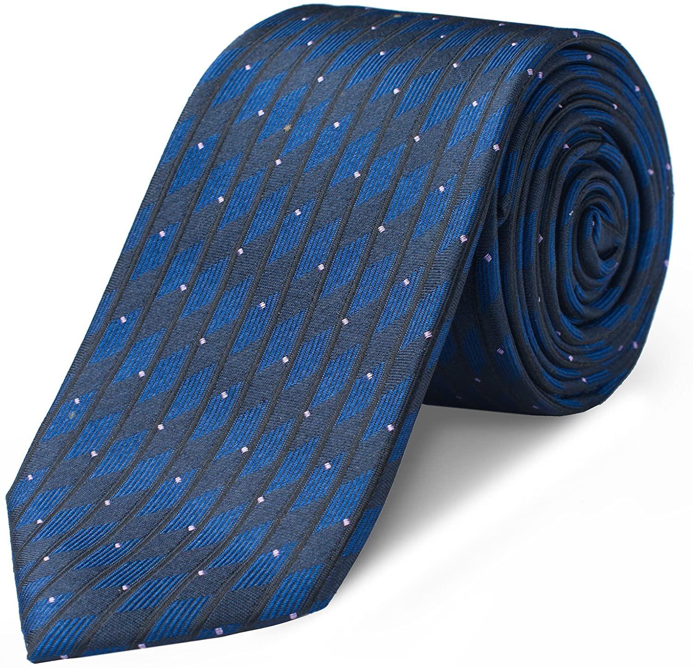 Origin Ties Mens Fashion 100% Silk 2.5 inches Tie Handmade Graphic Skinny Tie