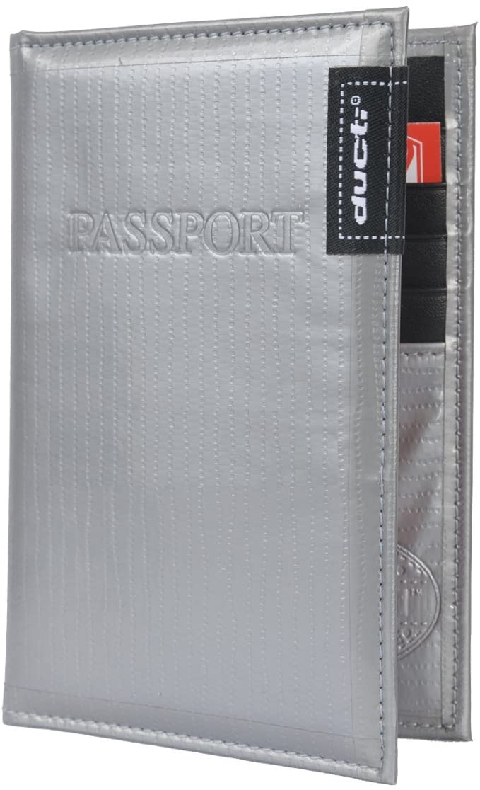 Ducti Super Duct Tape Trifold/Bifold Wallets (Passport Cover)