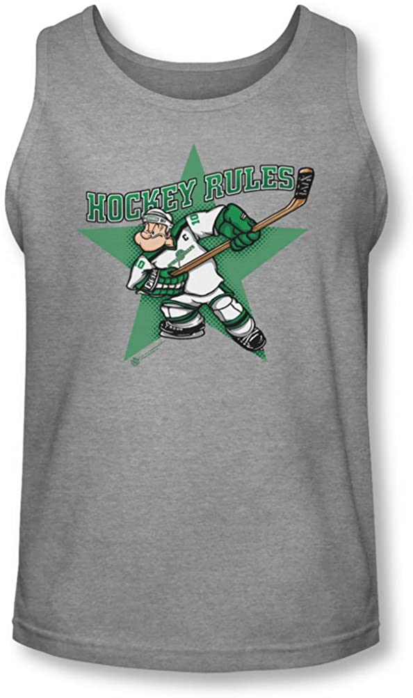 Popeye - Mens Spinach Leafs Tank-Top