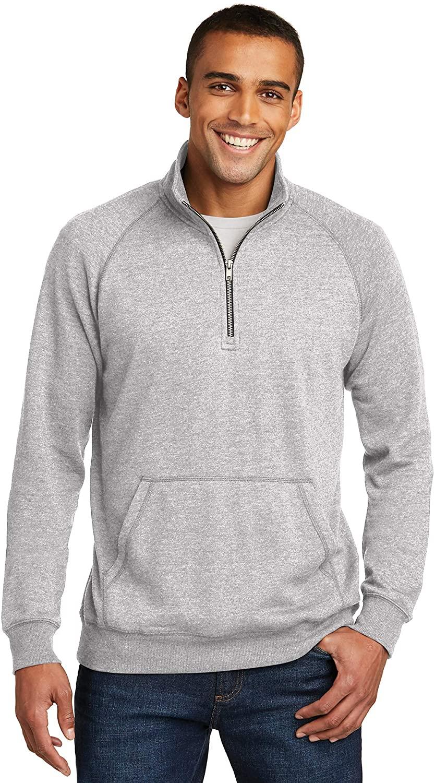 District Mens Lightweight Fleece 1/4-Zip (DM392)