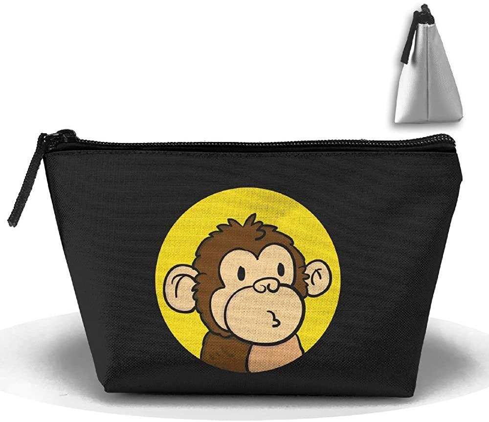 HTSS Monkey Portable Makeup Receive Bag Storage Large Capacity Bags Hand Travel Wash Bag