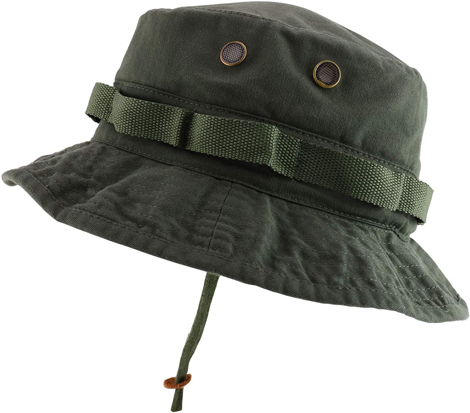 Rapid Dominance Washed Cotton Military Boonie Hat with Drawstring