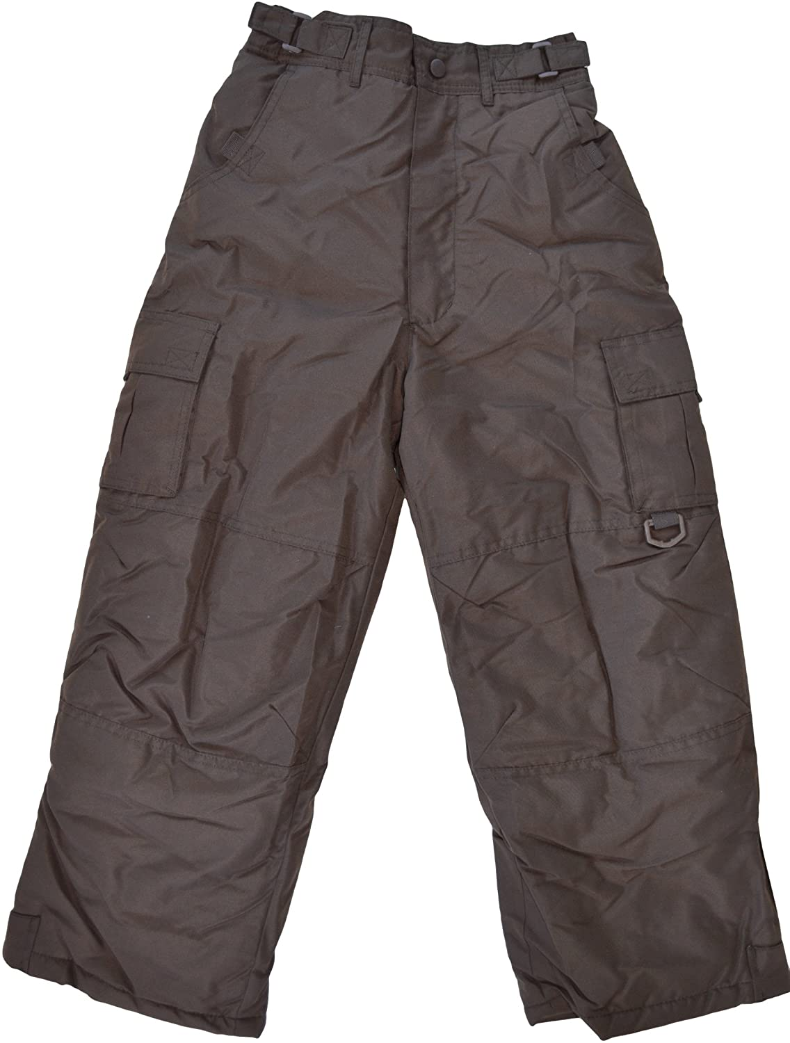 Rothschild Girls Insulated Snow Pant Cocoa Brown (6X)