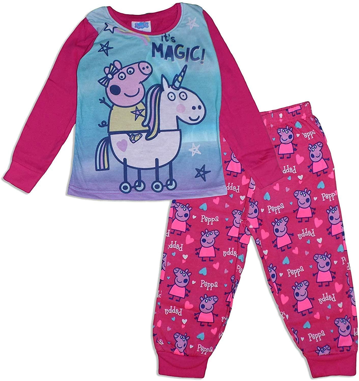 Peppa Pig Girls Pajama Set