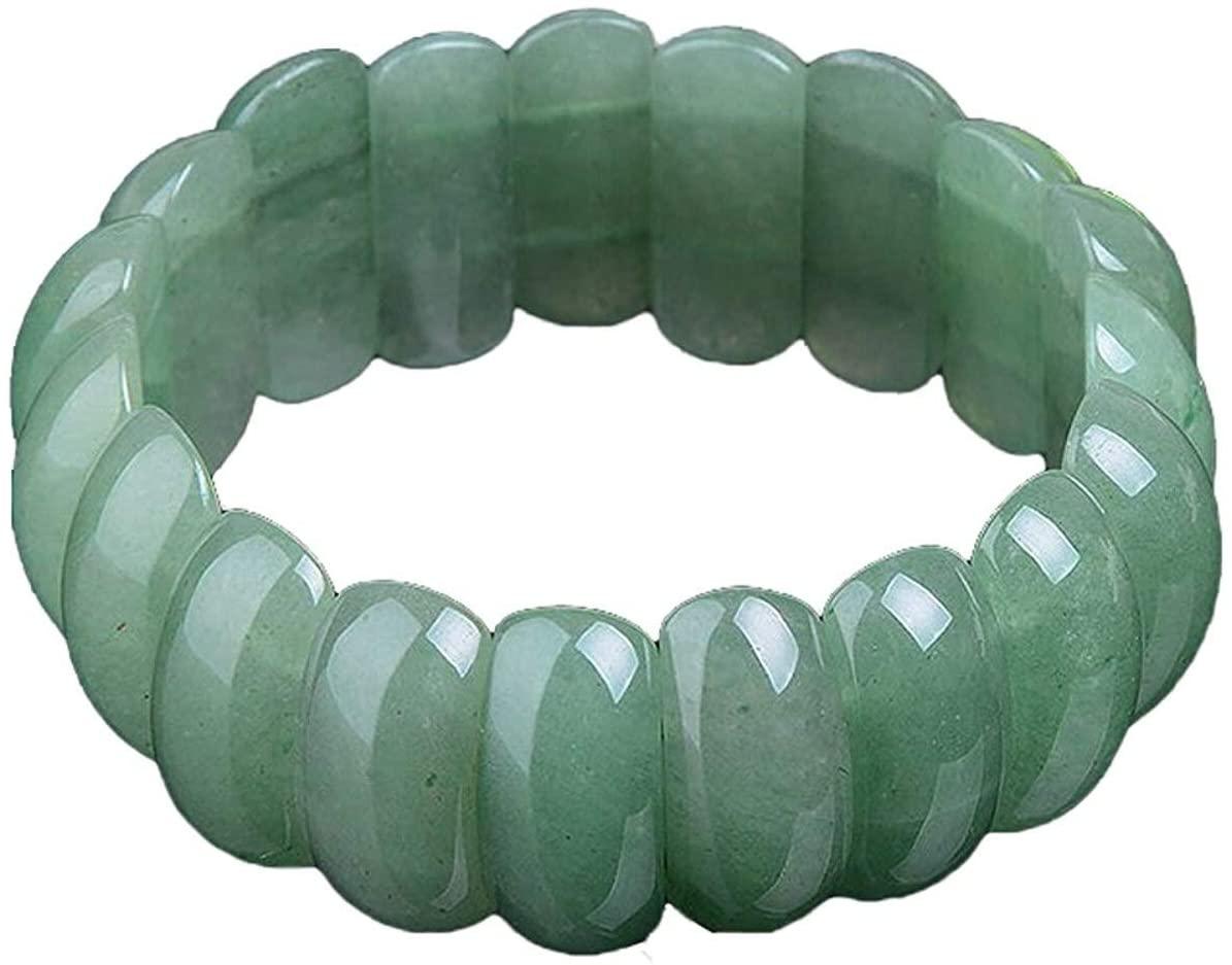 Davitu Bracelets & Bangles - Koraba Fine Jewelry Fashion Fine Pure Natural Aventurine Jade and Jade Girl Bracelet Bangle Hand Catenary Elegant Generous