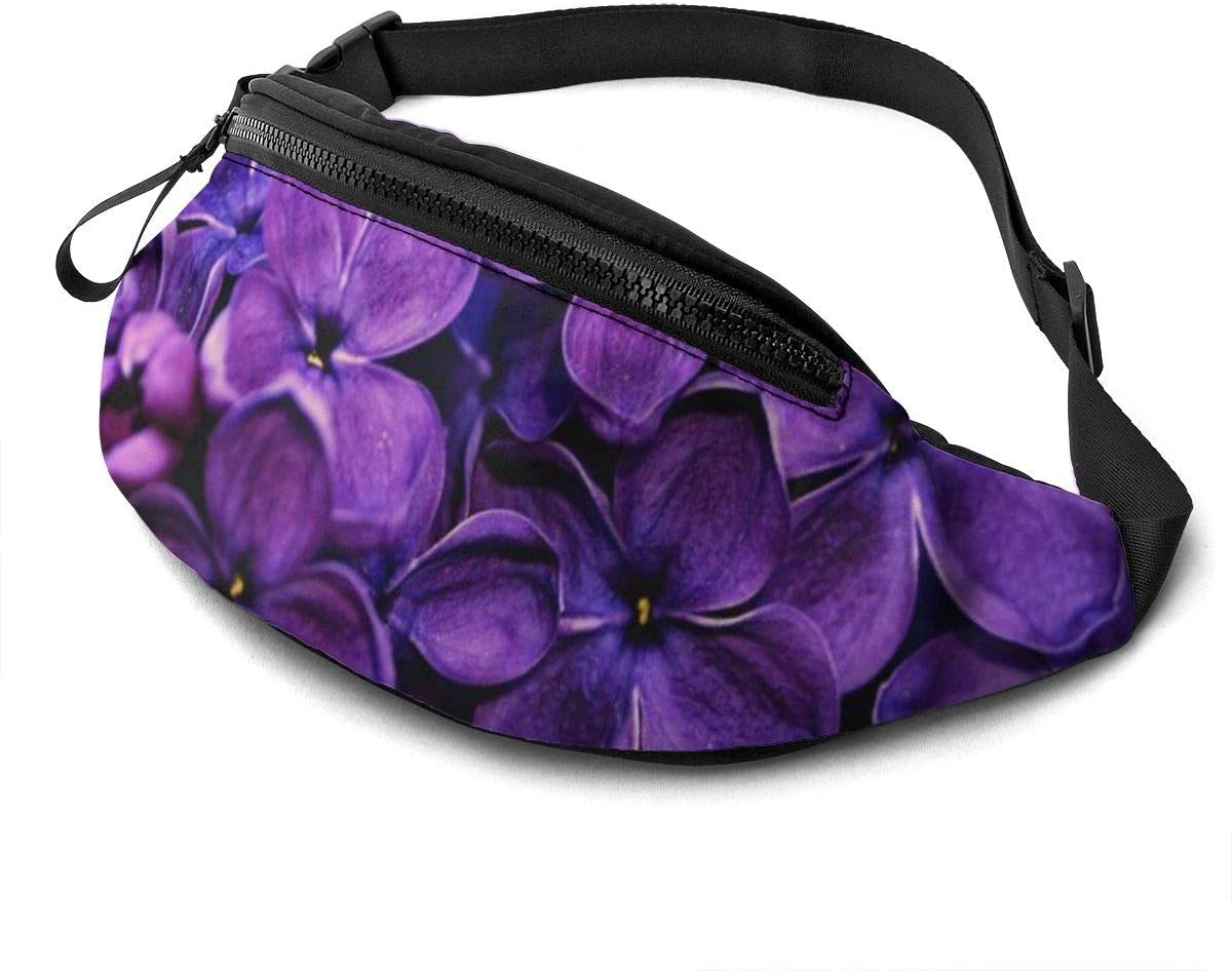 Spring Flowers Of Lilac Fanny Pack Fashion Waist Bag